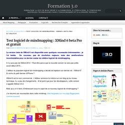 Test logiciel de mindmapping : XMind 6 beta Pro et gratuit