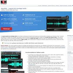 logiciel gratuit de montage audio mac ou pc pour mp3 et plus