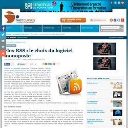 Flux RSS : le choix du logiciel monoposte