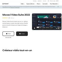 Logiciel de montage vidéo intuitif