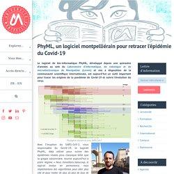 PhyML, un logiciel montpelliérain pour retracer l'épidémie du Covid-19