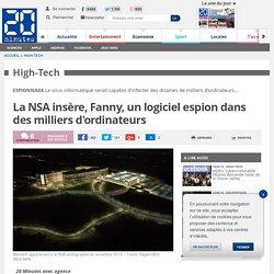 La NSA insère Fanny, un logiciel espion dans des milliers d'ordinateurs