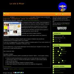"""Logiciel """"Présence"""" pour la maternelle - Le site à Micar"""