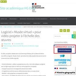 """Logiciel """"Musée virtuel"""" pour vidéo-projeter à l'échelle des œuvres"""