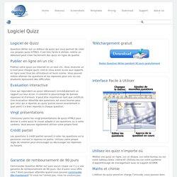 Logiciel QCM - Logiciel Gratuit de Quizz