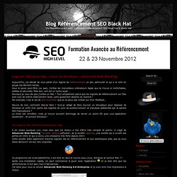 Logiciel SEO pour Mac, Linux et Windows : Advanced Web Ranking