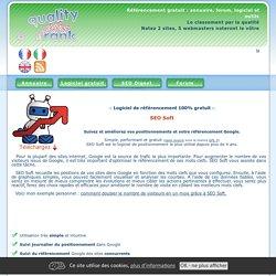 Logiciel SEO Soft : logiciel de référencement gratuit Google