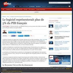 Le logiciel représenterait plus de 5% du PIB français - ZDNet
