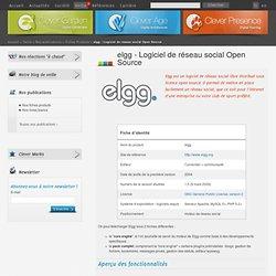 elgg - Logiciel de réseau social Open Source
