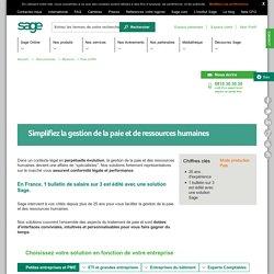 Paie et Ressources Humaines - Sage France