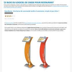 Logiciel de Restaurant - Easy Borne: Une borne de commande tactile et autonome, simple et pas chère!