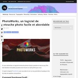 Photo-Works, un logiciel de retouche photo facile et abordable