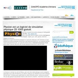 Physion est un logiciel de simulation physique 2D 100% gratuit
