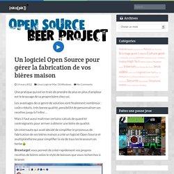 Un logiciel Open Source pour gérer la fabrication de vos bières maison