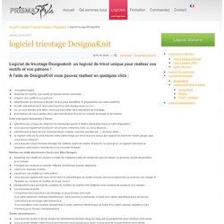 logiciel tricotage DesignaKnit