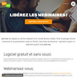 Logiciel de webinaire gratuit – Présentez un webinaire gratuit