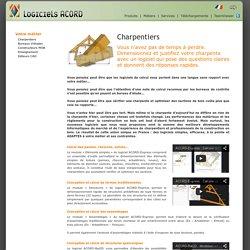 Logiciels Acord, Calcul de structure Bois pour Charpentiers