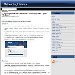 3 logiciels pour créer des frises chronologique en ligne -site gratuit