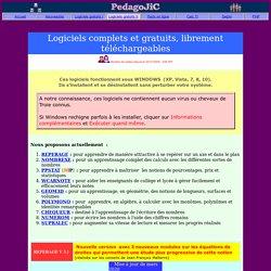 Logiciels JCM complets et gratuits II