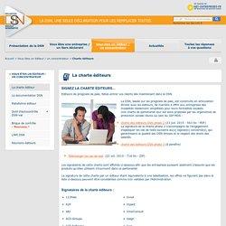 Charte des éditeurs de logiciels et des concentrateurs