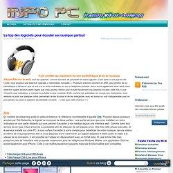 Le top des logiciels pour écouter sa musique partout - Info PC