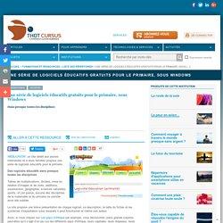 Une série de logiciels éducatifs gratuits pour le primaire, sous Windows