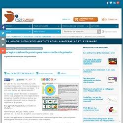 Des logiciels éducatifs gratuits pour la maternelle et le primaire