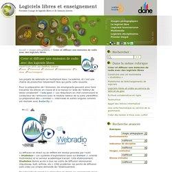 Créer et diffuser une émission de radio avec des logiciels libres
