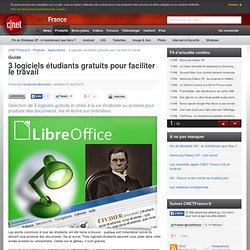 3 logiciels étudiants gratuits pour faciliter le travail