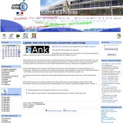 Logiciels - Anki: créer des flashcards associant texte, audio et image