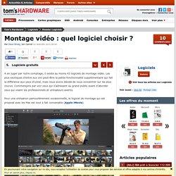 Logiciels gratuits - Montage vidéo : quel logiciel choisir ?
