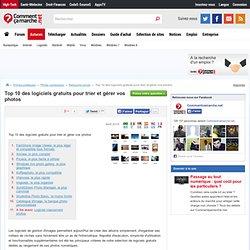 Top 10 des logiciels gratuits pour trier et gérer vos photos