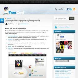 Montage vidéo : top 5 des logiciels gratuits
