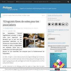 10 logiciels libres de votes pour les associations par