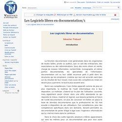 Les Logiciels libres en documentation/1