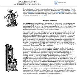 Logiciels Libres - Savoir - Volume L - R de réel