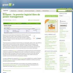 Ecoparc : le premier logiciel libre de power management