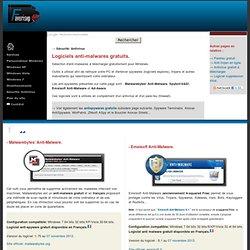Logiciels Anti-malwares-trojans-spywares gratuits pour Windows.