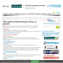 40 Logiciels Mathématiques libres ou gratuits