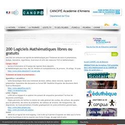 200 Logiciels Mathématiques libres ou gratuits