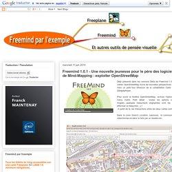 Freemind 1.0.1 - Une nouvelle jeunesse pour le père des logiciels libres de Mind-Mapping : exploiter OpenStreetMap