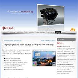 7 logiciels gratuits open source utiles pour le e-learning « Solutions e-learning – Plateformes LMS SCORM – serious games