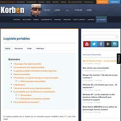 Free.Korben Logiciels portables