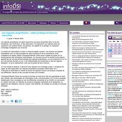 Les logiciels propriétaires : cadre juridique et licences associées
