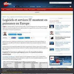 Logiciels et services IT montent en puissance en Europe - ZDNet