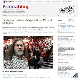 Le danger des brevets logiciels par Richard Stallman