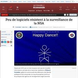Peu de logiciels résistent à la surveillance de la NSA