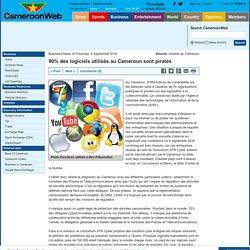 90% des logiciels utilisés au Cameroun sont piratés