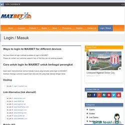 Login / Masuk