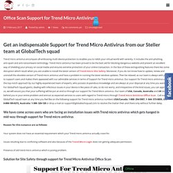Login Support for Trend Micro Antivirus